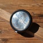 """Scheinwerfer Marke """"Bosch"""" Spitzlampe restauriert, 30er Jahre"""