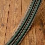 """Felgen Satz Draht 28"""" x 1 1/2 (635) !!! Stahl schwarz, Linierung grün-gold, 36/36 Loch, 35mm breit, Nippelbohrung 4,5mm"""