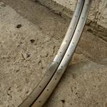 """Felgen Satz Draht 26"""" (559-20) """"VAN SCHOTHORST"""" Edelstahl , ungeöst, 36/36 Loch, 28mm breit, Nippelbohrung 4,5mm,"""