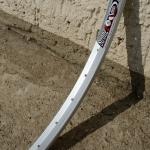 """Felge Draht 28"""" (622-19) """"RODI Strong"""" Aluminium , ungeöst, 36 Loch, 26mm breit, Nippelbohrung 4,5mm"""