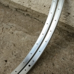 "Felgen Satz Draht 26"" x 1 3/8 (590-18)  Aluminium, ""SCHÜRMANN"", ungeöst, 36/36 Loch, 23mm breit, Nippelbohrung 4,5mm"