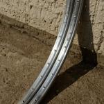 "Felgen Satz Draht 26"" x 1 3/8 (590-20)  Aluminium, ""ALESA"", gepunzt, 36/36 Loch, 23mm breit, Nippelbohrung 4,5mm"