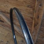 """Fahrradfelge für Wulstbereifung, 28"""", Stahl, 36-Loch, Breite 34 mm, schwarz pulverlackiert"""