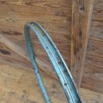 """Fahrradfelge für Wulstbereifung, 28"""", Stahl, 36-Loch, Breite 32 mm, überlackiert"""