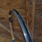 """Fahrradfelge für Wulstbereifung, 28"""", Stahl, 36-Loch, Breite 33 mm, NOS"""