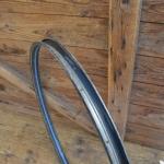 """Fahrradfelge für Wulstbereifung, 26"""", Stahl, 36-Loch, Breite 33 mm, NOS"""