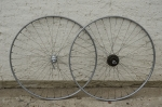 """Laufradsatz, 28 """" , Alufelge f. Schlauchreifen """"WEINMANN"""", 60th Campagnolo Naben, gebraucht, 21mm breit"""