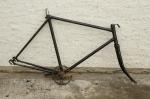 """Fahrradrahmen """"Tschechisches Modell"""",  Herrenausf., 28 Zoll,  RH=57cm, orig. 30er J., incl. Gabell u. Tretlager"""