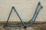"""Fahrradrahmen """"NSU"""",  Damenausf., Sport, 26 Zoll , RH=55cm, orig. 50er J., ohne Gabel,  ohne Tretlager"""