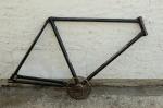 """Fahrradrahmen """"VATERLAND"""",  Herrenausf., 28 Zoll , RH=57cm, orig. 50er J., ohne Gabel,  incl. Tretlager"""