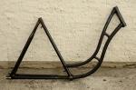 "Fahrradrahmen ""ADLER"",  Damenausf., 28 Zoll , RH=55cm, orig. 50er J., ohne Gabel,  ohne Tretlager"