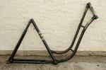"""Fahrradrahmen """"NSU"""",  Damenausf., 26 Zoll , RH=53cm, orig. 50er J., ohne Gabel,  ohne Tretlager"""