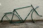 """Fahrradrahmen """"PANIER"""",  Herrenausf., 26 Zoll , RH=57cm, orig. 50er J., incl. Gabel,  ohne Tretlager"""