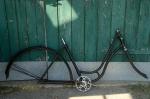 "Fahrradrahmen  ""Wanderer"",  Damenausf., schwarz, 26 Zoll ,  RH=50cm, 30er J., incl. Gabel u. Tretlager"