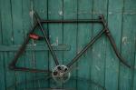 "Fahrradrahmen  ""OPEL"",  Herrenausf., schwarz, 28 Zoll ,  RH=57cm, 30er J., incl. Gabel u. Tretlager"