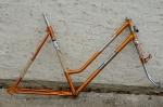"Fahrradrahmen  ""RALEIGH"",  Sport, Stahl, kupfer, 28 Zoll, RH=53cm, 60/70 er J., incl. Gabel ohne Tretlager, NEU"