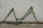 "Fahrradrahmen  Damen Sport ""RIXE"",  Stahl, grün, 28 Zoll,  RH=53cm, 50/60 er J., incl. Gabel u. Tretlager, NEU"