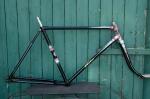 "Fahrradrahmen  ""ELITE"",  Herrenausf., schwarz , 28 Zoll,  RH=55cm, 50/60er J., incl. Gabel , alte Neuware !"