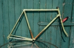 """Fahrradrahmen, """"MOTOBECANE Equipe Pro"""", Rennrahmen, grün metallic , 28 Zoll,  RH=56cm, 80er Jahre"""