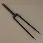 """Gabel 28"""" orig. 30-50er J. unrestauriert, Schaftlänge 232 mm, Weite oben 54 mm, Zustand siehe Bilder"""