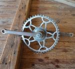 Tretlager Glockenausf. Achslänge 134 mm, Kurbellänge 172 mm, 50er Jahre