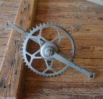 Tretlager Glockenausf. Achslänge 132 mm, Kurbellänge 172 mm, 30er Jahre