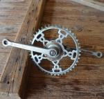 Tretlager Glockenausf. Achslänge 132 mm, Kurbellänge 170 mm,  30er Jahre