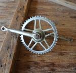 Tretlager Glockenausf. Achslänge 136 mm, Kurbellänge 172 mm,  60er Jahre