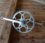 Tretlager Glockenausf. Achslänge 134 mm, Kurbellänge 172 mm,  50er/60er Jahre