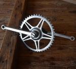 Tretlager Glockenausf. Achslänge 136 mm, Kurbellänge 172 mm,  50er bis 60er Jahre