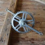 Tretlager Glockenausf. Achslänge 140 mm, Kurbellänge 170 mm, 70er Jahre