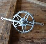Tretlager Glockenausf. Achslänge 140 mm, Kurbellänge 172 mm,  50er Jahre