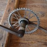 Tretlager Glockenausf. Achslänge 136 mm, Kurbellänge 172 mm,  30er Jahre