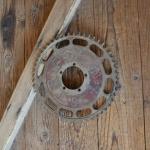 """Kettenblatt """"Tripol"""" Durchmesser ca. 217 mm, 30er Jahre"""
