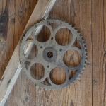 Kettenblatt - Durchmesser ca. 247 mm, 3-Loch-Aufnahme, 20er Jahre