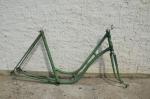 """Fahrradrahmen """"Wanderer"""" Damenausf. 28 Zoll, Stahl, RH=55 cm, 30er Jahre."""