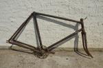 """Fahrradrahmen """"Chemnitzia"""" Herrenausf. 26 Zoll, Stahl, RH=55 cm, 30er Jahre."""