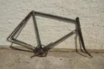 """Fahrradrahmen """"Presto Othello"""" Herrenausf. 28 Zoll, Stahl, RH=58 cm, 20er Jahre."""