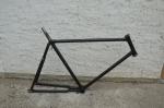 """Fahrradrahmen """"Unbekannt"""" Herrenausf. 26 x 2,00 Ballon, Stahl, RH=55 cm, 30er Jahre."""