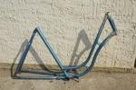 "Fahrradrahmen ""Miele Original"" Damenausf. 28 Zoll, Stahl, RH=55 cm, 50er Jahre."