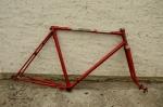 """Fahrradrahmen """"Rixe"""", Herrenausf., vollverchromt, 28 Zoll, Rahmenhöhe = 55 cm, 60er Jahre"""