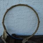 Drahtfelge 28 Zoll, Breite 35 mm, Dekor blau-weiß, NOS, OVP