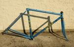 "Fahrradrahmen Rennrad  ""Viner"", blau metallic, Rahmenhöhe 51 cm, Rahmennummer 160xxx"