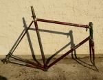 "Fahrradrahmen ""Rabeneick Campagnolo"", Rahmenhöhe 61 cm, Rahmennummer 175xxx"