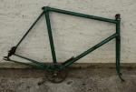 Fahrradrahmen Bahnrenner, Rahmenhöhe 56 cm, ohne Rahmennummer, handgelötetes, schönes Einzelstück.