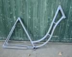 "Fahrradrahmen ""Opel"", Damenausf. Rahmenhöhe 54 cm, 28 Zoll, Rahmennummer 2418xxx"