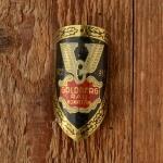 """Steuerkopfschild  """"GOLDBERG"""", 50/60er Jahre,  Originalschild aus Sammlungsauflösung !"""