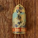 """Steuerkopfschild  """"GRAF ANTON GÜNTHER"""", 50/60er Jahre,  Originalschild aus Sammlungsauflösung !"""