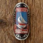 """Steuerkopfschild  """"BILLRAD"""", 60er Jahre,  Originalschild aus Sammlungsauflösung !"""