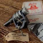 """Speichenschloss """"Bylox"""" mit Zahlenkombination, sehr rar, orig. Altbestand 30-50er Jahre, ohne orig Karton !!!"""